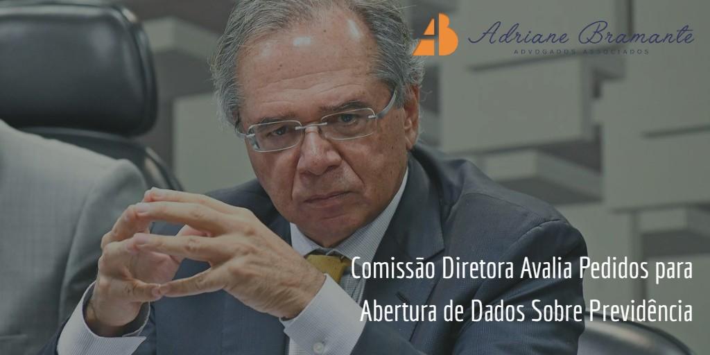 Comissão Diretora Avalia Pedidos para Abertura de Dados Sobre Previdência