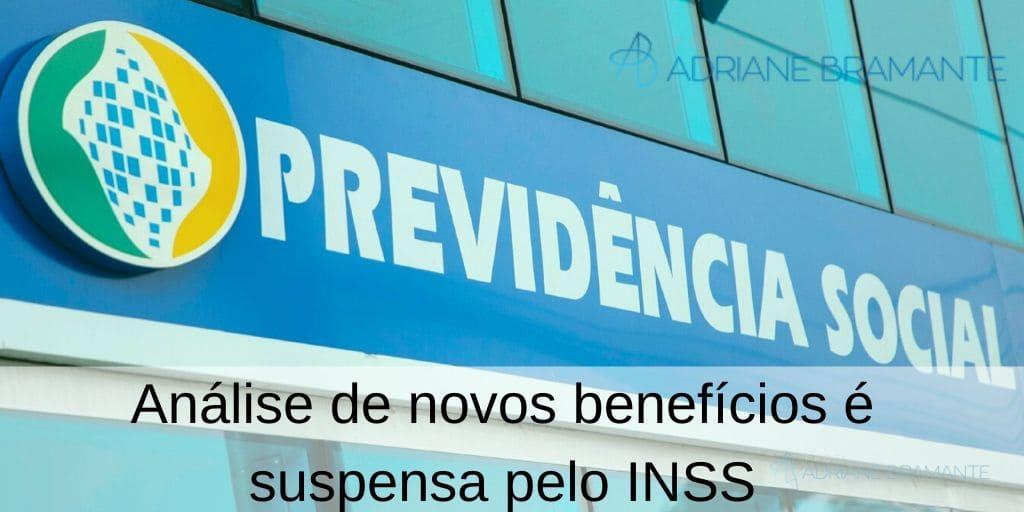Análise de novos benefícios é suspensa pelo INSS